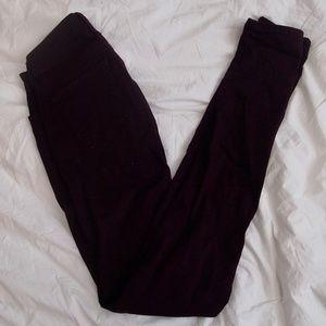 Uniqlo: Burgundy Skinny Jeans